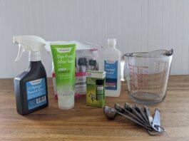 Homemade Sanitizer