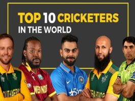 Most Popular Cricket Players