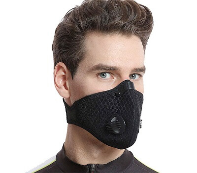 Air purifying and sanitizing mask