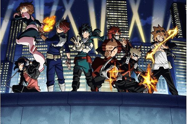 Cast of My Hero Academia
