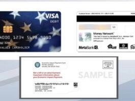 Economic Impact Payment Card