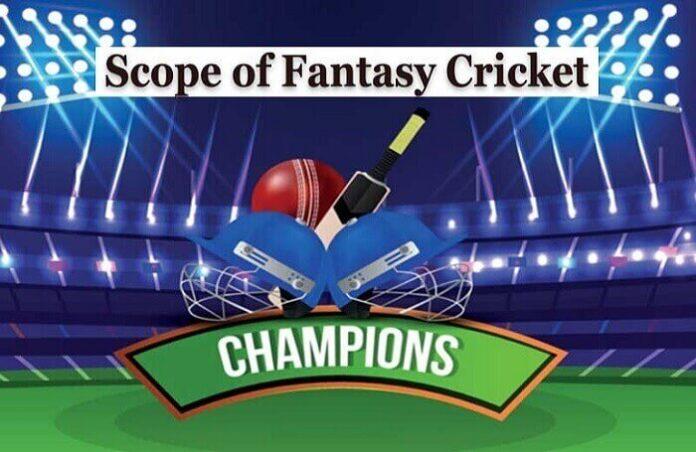 scope of fantasy cricket game app