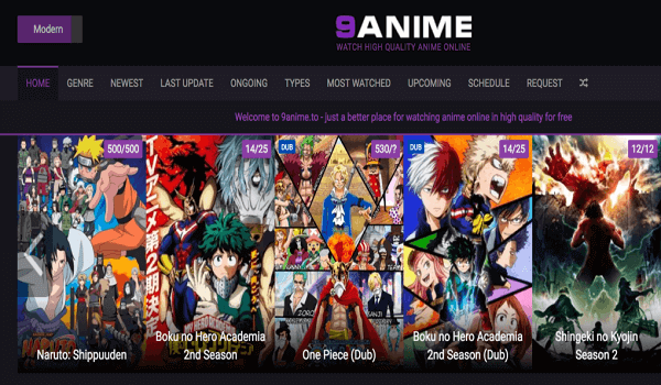 9 anime