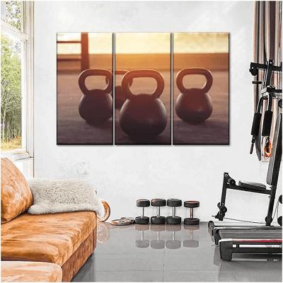 gym set up at home